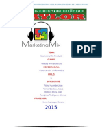 Monografia Marketing Mix(Producto)