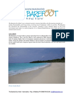 The Barefoot Fact Sheet