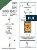 2016-12-13 Nov- 21ap-8 Luke-Vespers Tone 4- St John Chrysostom