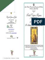 2016 -16 Nov- Vespers-st Matthew Levi Apostle