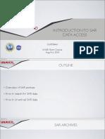 InSAR ShortCourse SAR Data Access