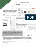 Blogger Es Uno de Los Servicios de Blog Más Usados Por Las Personas en Internet