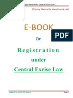 Ecentral Excise Registration