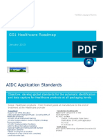 GS1 Healthcare Roadmap January 2015