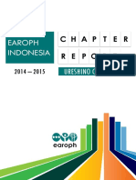 EAROPH Indonesia Chapter Report 2015