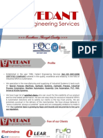 Vedant Engineering Services Presentation