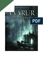 Anthony Ryan 2- A Várúr (Hollóárnyék Trilógia 2)