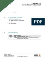 Agfa DX-M & DX-G service manual