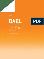 Catalogo Bael 2014
