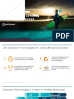Lte Qualcomm Leading the Global Success