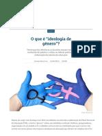 """O que é """"ideologia de gênero""""_ _ Vida e Cidadania _ Gazeta do Povo"""