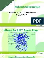 Cluster KTR-17 Defence Optimization Report