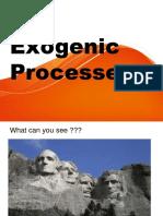 Exogenic processes1