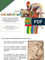 Saravia (2014) Contrapuntos a la idea de decolonialidad.pdf
