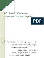 21st Century Literature 1st Mid Quarter