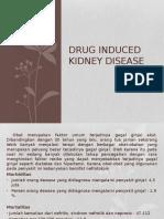 Drug Induced Kidney Disease