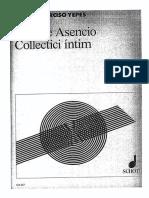 Vicente Asencio - Collectici Intim