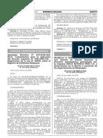 Aprueban Directiva N° 001-2016-JUS/DGJC Lineamientos para la aplicación del Decreto Supremo N° 006-2016-JUS - Reglamento de la Ley N° 29635 sobre el Registro de Entidades Religiosas