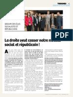 Tribune du Groupe Socialiste et Republicain de Novembre 2016