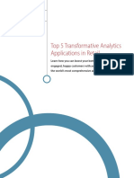 Whitepaper Top 5 Transformative Analytics Applications in Retail