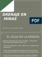 Drenaje en Minas
