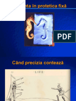 7 Amprenta in Protetica Fixa