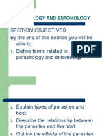PARASITOLOGY AND ENTOMOLOGY ppt | Parasitism | Infection