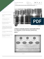 3 Steps to Calculate Maximum Permissibl..
