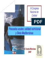 Calidad Nutricional y Dieta Mediterranea