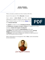 Historia Rafael Urdaneta