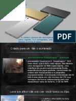 Apresentação Xperia Z5