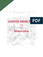 Unidad Didactica Matematica 2do Grado