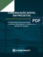 eBook Comunicacao Movel Em Projetos Construct e Gestor de Obras