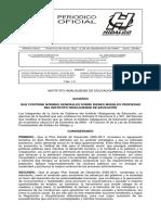 Normas Generaldes y Creacion Del Comite de Afectacion