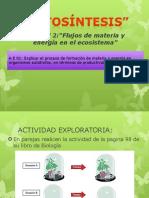 Fotosintesis y Factores Test 1 - 1ro Medio