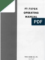 Yaesu FT-757GX Manual