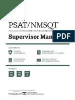 Supervisors Manual Psat Nmsqt