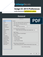 InDesignSecrets Guide to Preferences