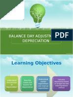 Topic 6a-Balance Day Adjustment - Depreciation