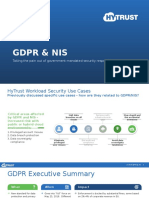 GPDR and NIS Compliance Presentation
