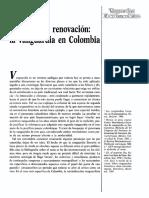 Tradicion y Renovacion La Vanguardia en Colombia