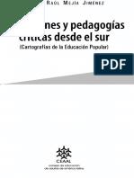 Educacion y Pedagogia Desde El Sur