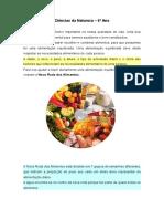 Nutrientes e Roda Dos Alimentos