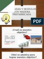 Viviendas Con Madera Prefabricada Exposicion