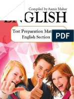 English eBook- Test Preparation Material