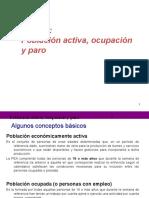 4a Clase Poblacion Activa Ocupacion y Paro