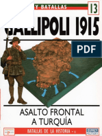 Ejercitos Y Batallas 13 - Gallipoli 1915