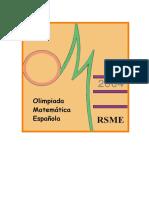 Olimpiadas EspañolasEnunciados y Soluciones