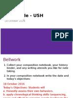 8USH - 18 Oct - Chronological Thinking (1).pptx
