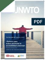 «Turismo Para Todos Promover La Accesibilidad Universal»